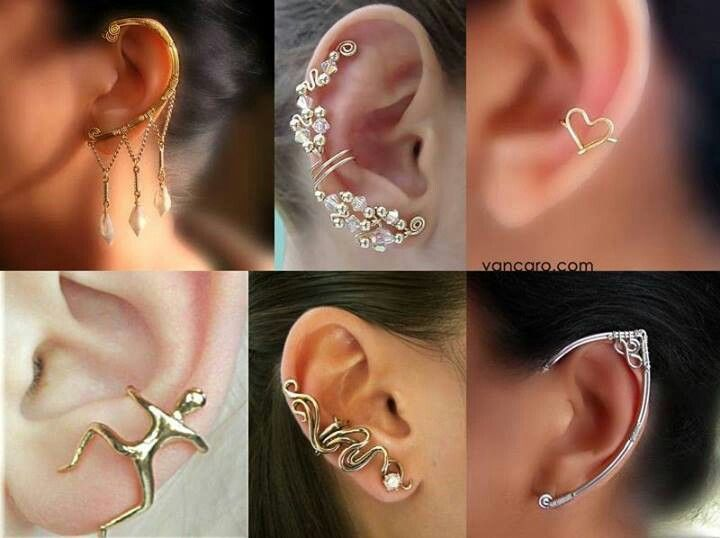 396 best ear cuffs images on jewelry ear cuffs and