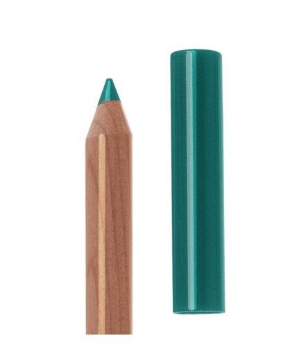 Neve Cosmrtic:Pastello occhi bosco/teal: Matita occhi ad alta sfumabilità con formula legante naturale. Ideale come kajal, come eyeliner e come base per esaltare ombretti e pigmenti in polvere.  Verde pavone intenso dal finish opaco. Intenso e pigmentatissimo, è un colore che non passa inosservato. Particolarmente indicato per esaltare gli occhi castani e per fare da base a ombretti verdi e blu. € 4.80.