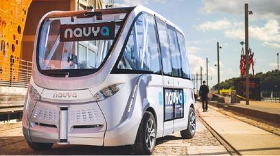 La Centrale nucléaire de Civaux s'équipe de six navettes Navya 100% autonomes