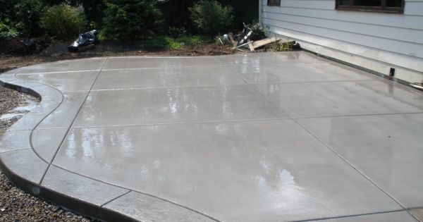 Smooth Finish Concrete Patio Bing