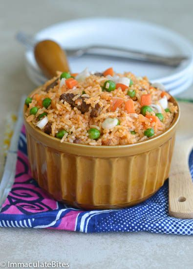 Jollof rice is a legendary one-pot dish that's ubiquitous in Nigeria and popular elsewhere in West Africa. It is a fairly easy dish to make anywhere in the world because the ingredients are easy to find. As with most African food each country, region and even households have put their ...