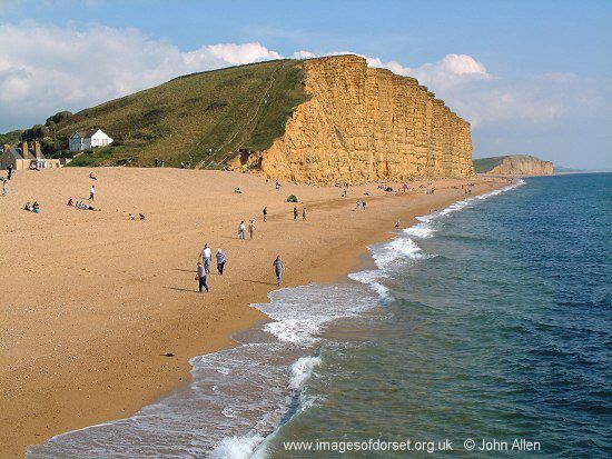 West Bay, Dorset - I know it's not Somerset, but it's where my favourite people live ;-)