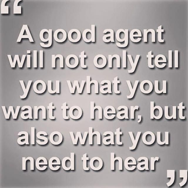 Sometimes I have to tell the truth! The truth is I would love to be your Realtor…