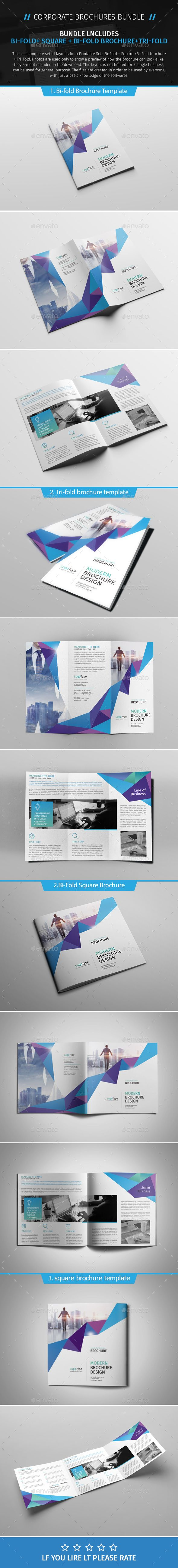 Brochure Bundle 03  — PSD Template #scheme #trading • Download ➝ https://graphicriver.net/item/brochure-bundle-03/18073246?ref=pxcr