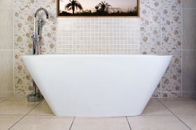 Dado-quartz freestanding bath. yes please