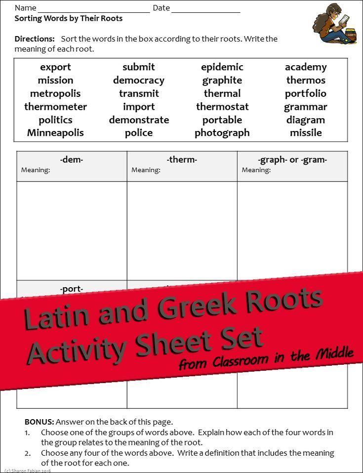 Latin And Greek Roots Activities With Slide Presentation Vocabulary Activities Root Words Teaching Figurative Language