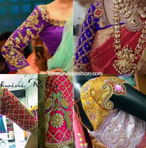 6 Exquisite Blouse Designs For Kanjeevaram Silk Sarees photo