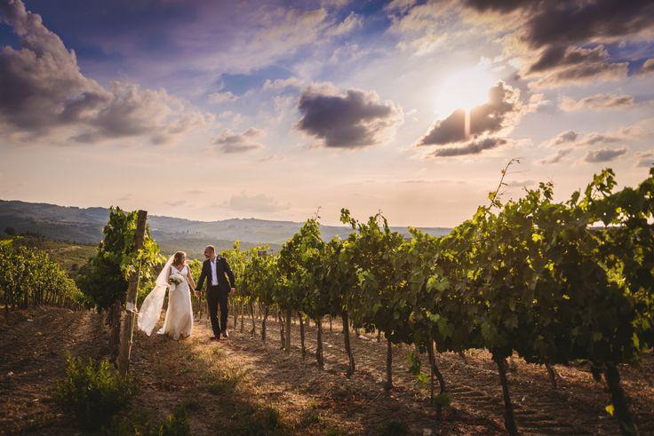 Wedding day at Villa Nozzole. Tuscany, Italy