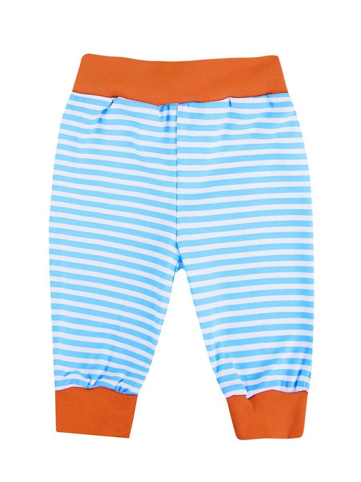 Штанишки Пираты КОТМАРКОТ. Цвет голубой, оранжевый, белый.