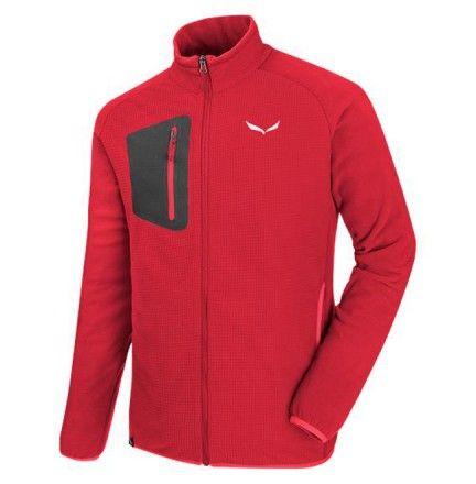 Veste Polaire Salewa Puez Plose pour homme Rouge - La Polaire Puez Plose est une couche thermique zippée, cette polaire exclusive de SALEWA avec une face intérieure grattée qui emprisonne la chaleur. Boutique COTTAY SHOP - Sportswear - Verte pour homme - Men jacket