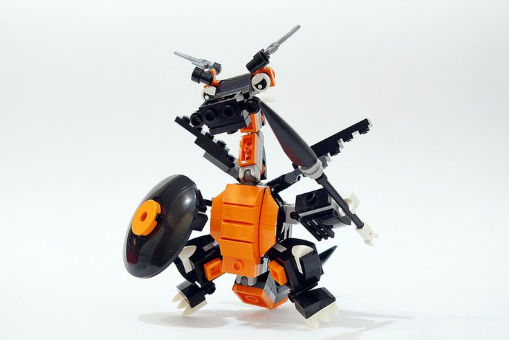 Sparky the ninjago dragon! | Weapons for bringing the fight … | Flickr