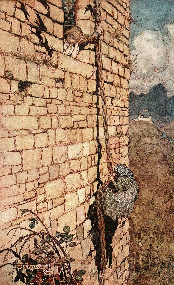 Arthur Rackham - Grimm's Fairy Tales (11 of 24) 1909