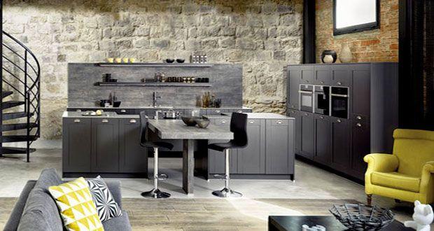 La cuisine ouverte est au coeur de la tendance déco pour un aménagement convivial et gain de place. La cuisine s'ouvre sur le salon…