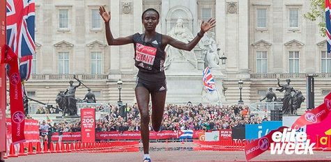 RunnersWeb   Athletics:  Mary Keitany Aims To Break Paula Radcliffe's World Record At 2018 Virgin Money London Marathon