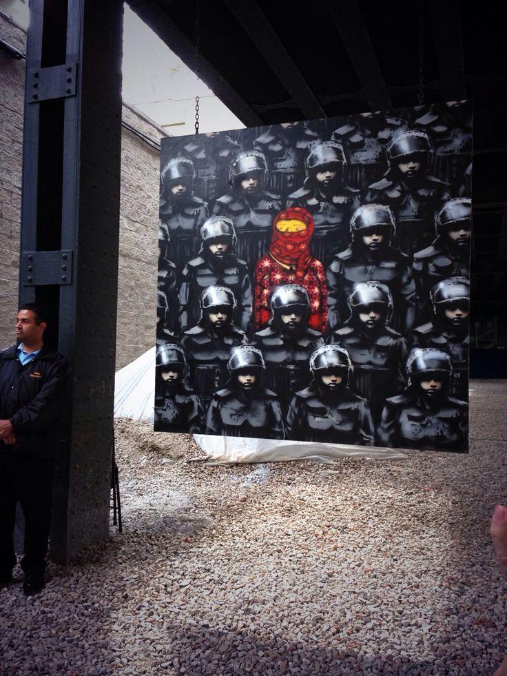 Banksy and Osgemeos