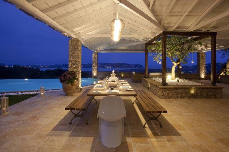 Corfu Villas for rent - Private Luxury Villa Piedra in Corfu