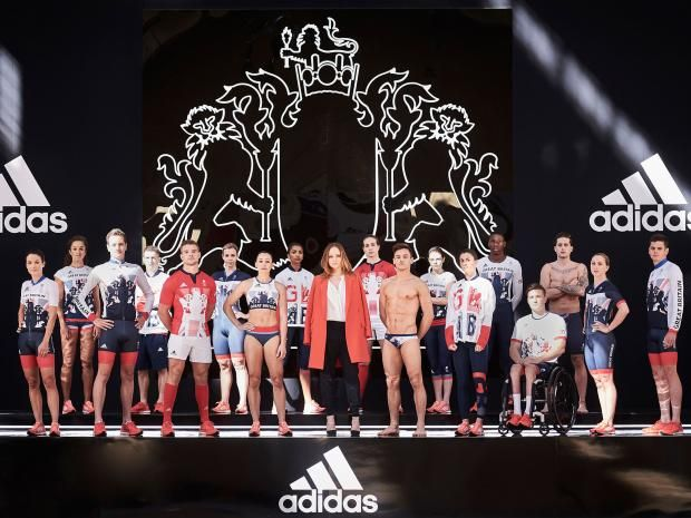 April 28 2016 - Team GB's kit for this summer's Olympics in Rio has been unveiled
