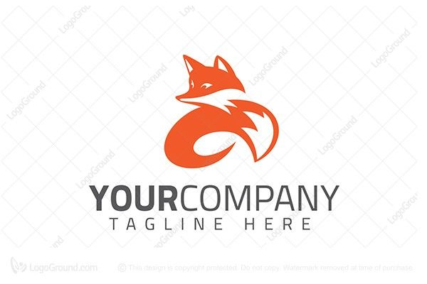 Logo for sale: Twirl Fox Logo