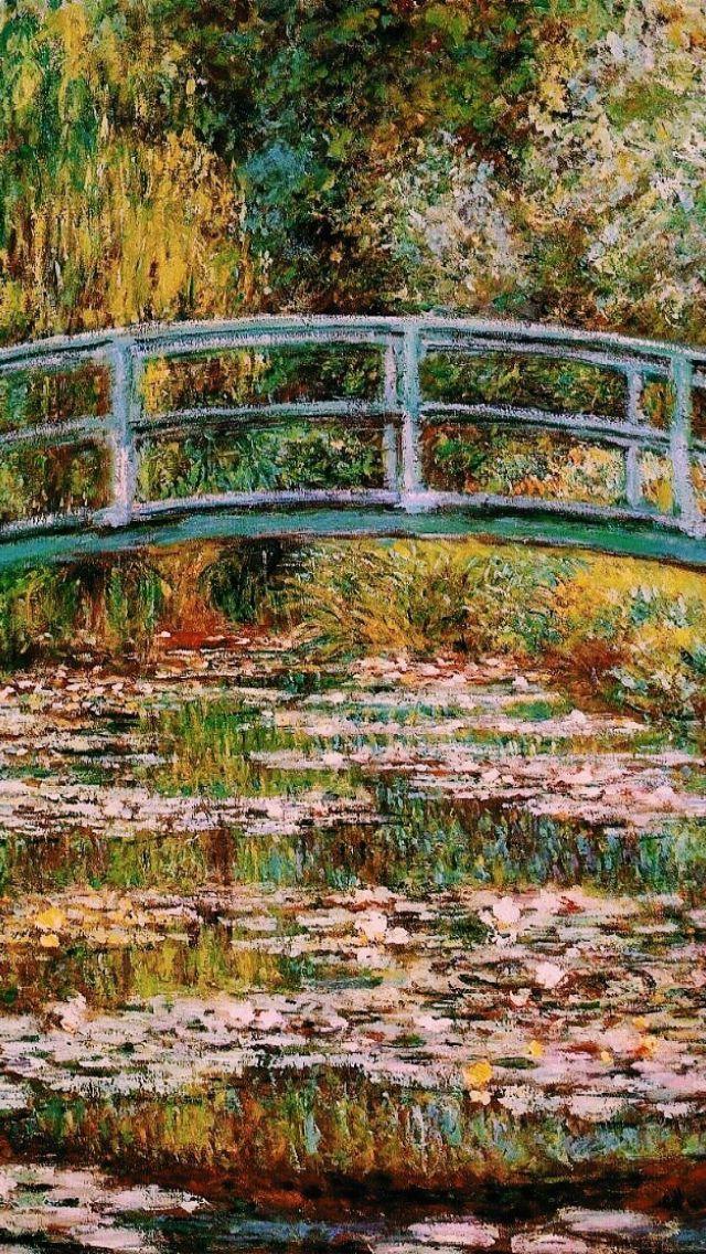 Claude Monet Lockscreen Wallpaper In 2019 Painting