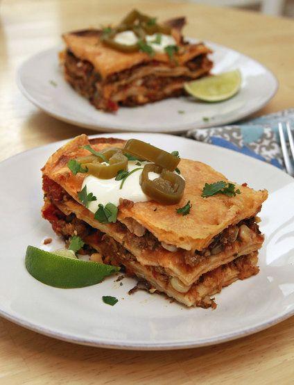 Gluten-Free Mexican Lasagna | Recipe
