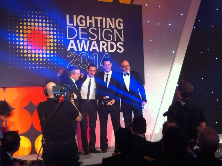 into lighting. darren orrow and anthony stead from into lighting win at the 2014 design awards u
