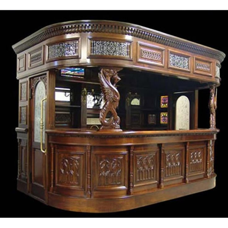 17 best images about full size taverns pub bar furniture on pinterest antique silver Home pub bar furniture