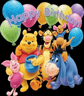 glitter graphics winnie the pooh and friends | http://www.desiglitters.com/birthday/wishing-you-happy-birthday-from ...
