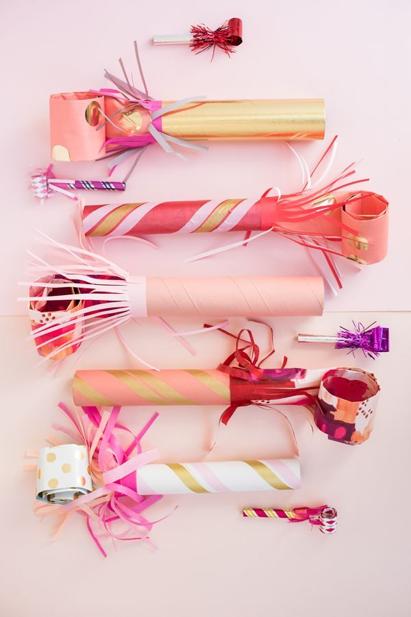 Giant Party Blowers DIY   Oh Happy Day!
