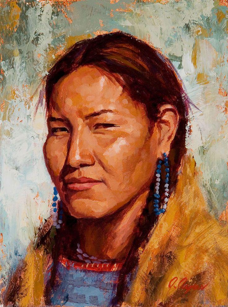American portraits native