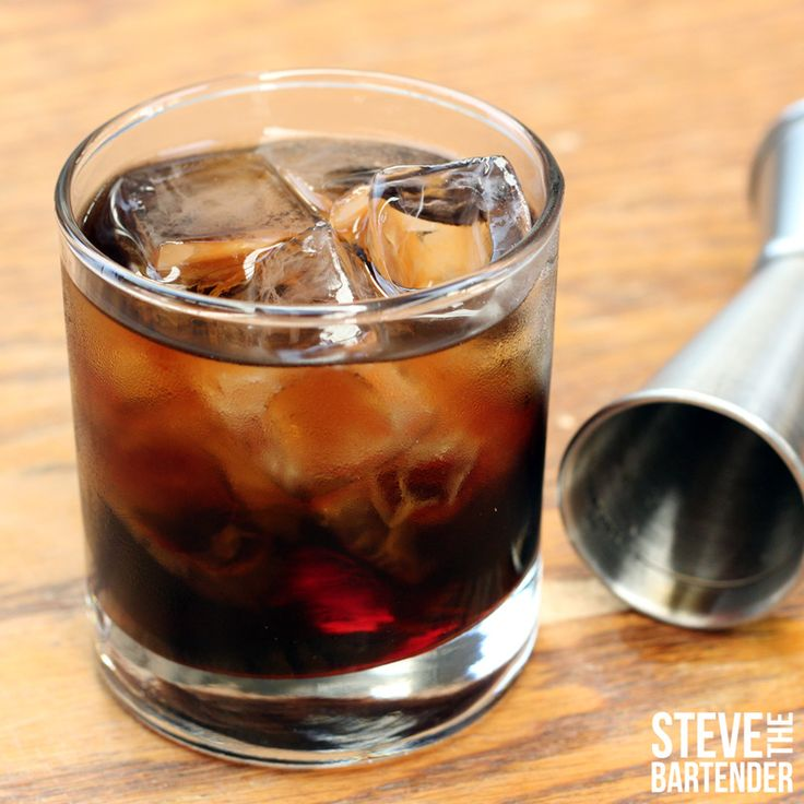 As easy as it gets! A large rocks glass and equal parts of Russia's white spirit & coffee liqueur - read on.