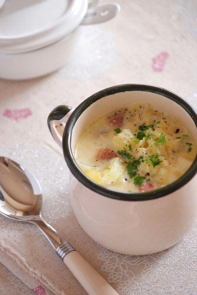 白い冬野菜のミルクスープ。 by 栁川かおり | レシピサイト「Nadia ...