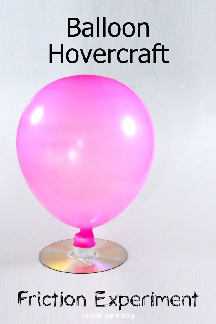 No glue gun required simple balloon hovercraft you can for What can you make with balloons