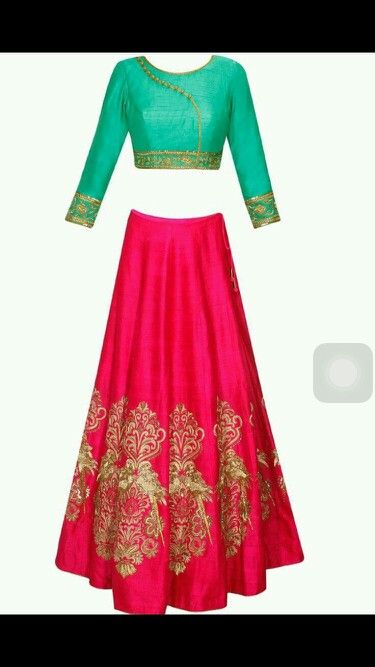 Pinkish Red raw silk lehenga with zardosi work and embroidered blouse and red dupatta Price-17500/-