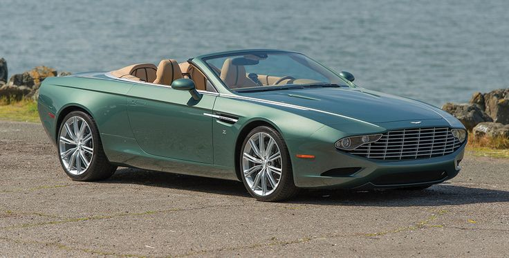 The one-off 2013 Aston Martin Centennial DB9 Spyder by Zagato is up for auction by RM Sotheby's on August 14-15 in Monterey (USA).