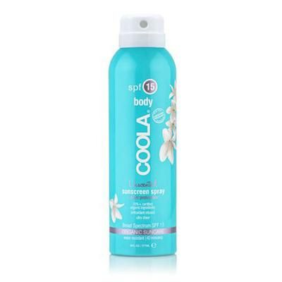 Coola SunCare Continuous Spray SPF 15 Unscented - 177 ml.