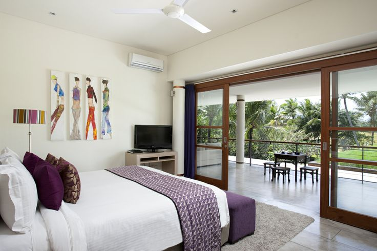 Upstairs bedroom Villa Dewi Sri