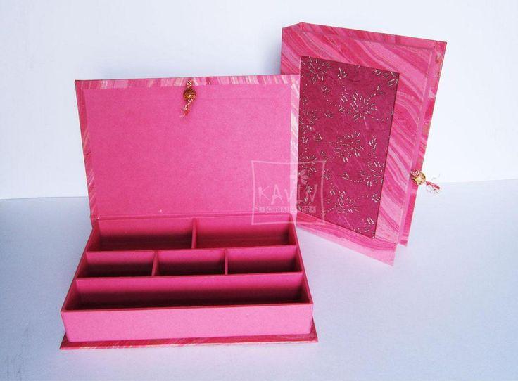 Handmade paper multipurpose #jewellery box shop online with #craftshopsindia