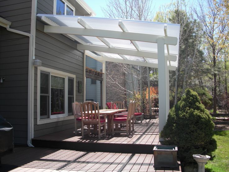 Adjustable Patio Cover   Opens And Closes