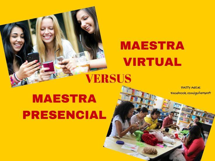 De MAESTRA PRESENCIAL A MAESTRA VIRTUAL