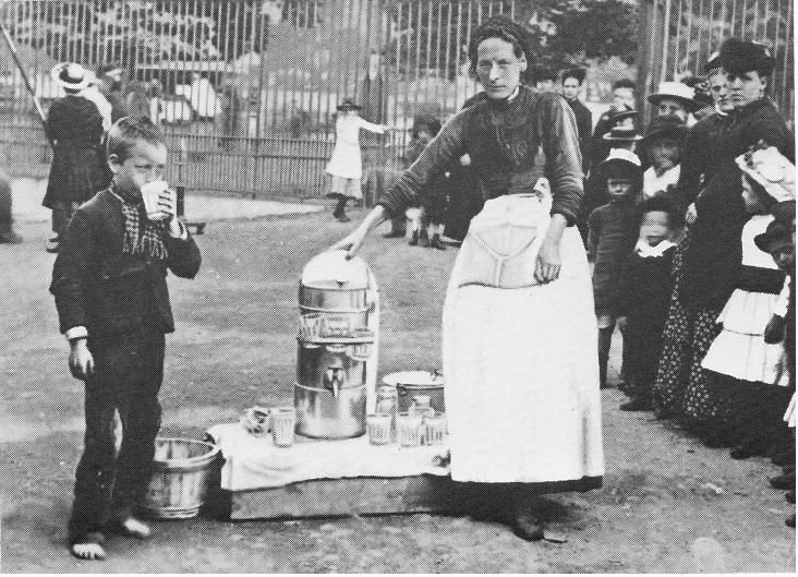 Sherbet Seller, London, 1884.