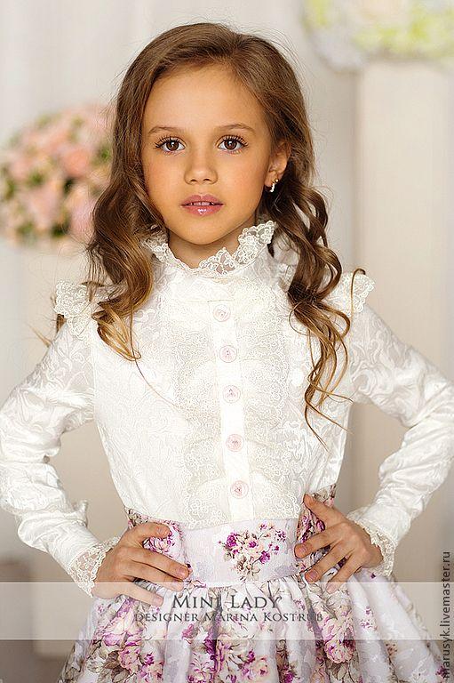 Купить ПЛАТЬЕ александра-детское-1 - белый, цветочный, платье для девочки, платье богемное