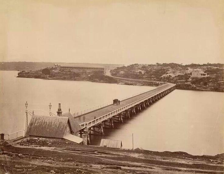 Glebe Island Bridge, 18790. State Library NSW.