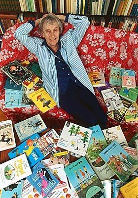 Astrid Lindgren. Swedish writer☆ children's literature.