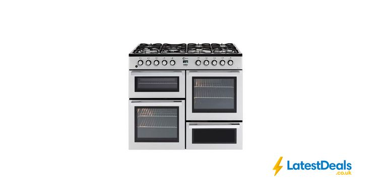 FLAVEL Dual Fuel Range Cooker - Silver & Chrome £519.99 with Code at Currys PC World