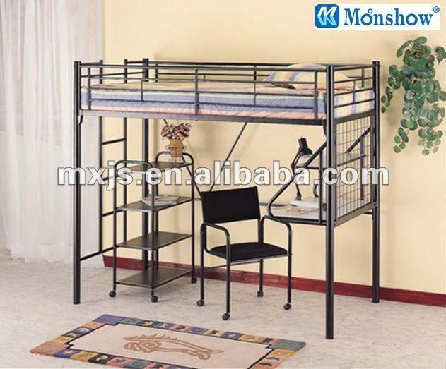 Modelos de camas litera con escritorio abajo buscar con - Literas 3 camas ikea ...
