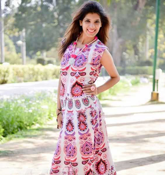 Strappy Dresses – Long Bohemia Vintage Cotton Sleeveless Women Dress – a unique product by IndianCraftPalace on DaWanda