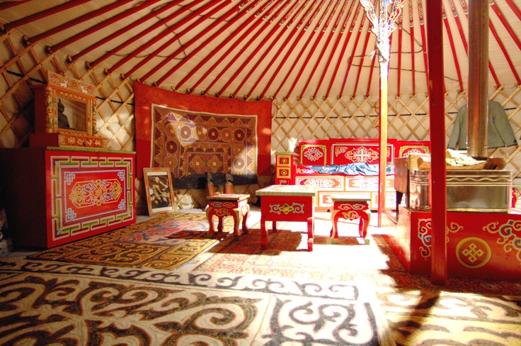 Attrayant Yurt Inside