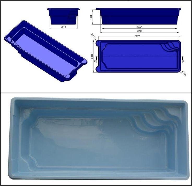 屳 Kit piscine coque promo pas cher moins de 10M² Débutant ou