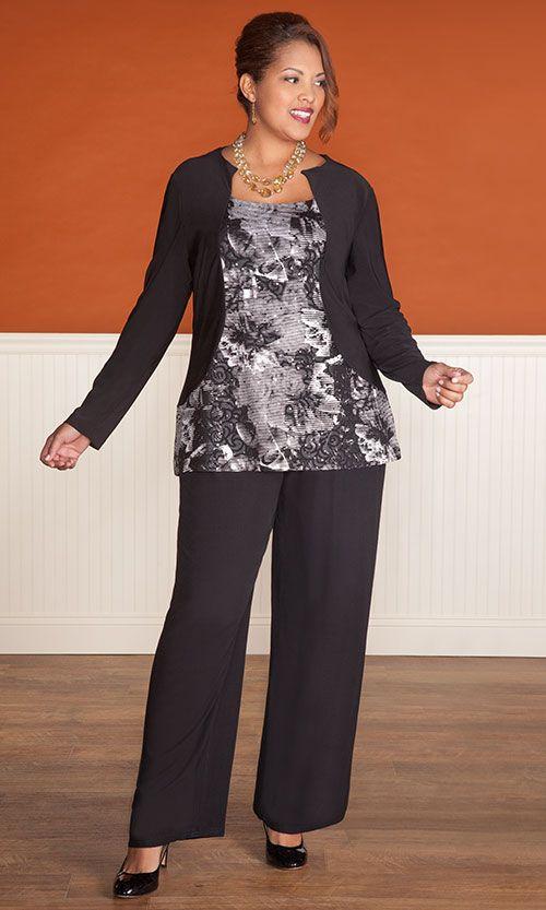 DUCHESS TOP / MiB Plus Size Fashion for Women / Fall Fashion / Career / Plus Size Top / http://www.makingitbig.com/product/duchess-top