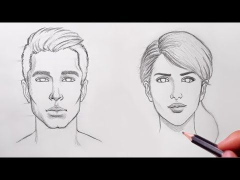 Drawing Heart - Trick Art on Line Paper - Drawing with Charcoal Pencil - VamosART - YouTube